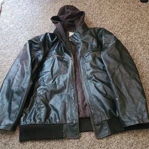 Route 66 Men's Leather Jacket 4X